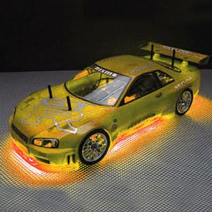 RC Neon Orange Under Car Lighting Kit