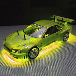 RC Neon Yellow Under Car Lighting Kit
