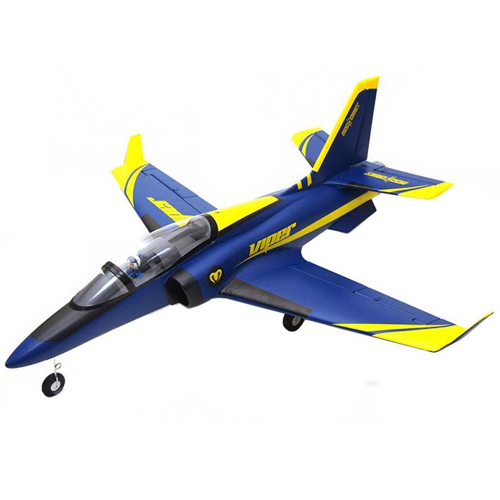 ROC HOBBY 1100MM VIPER BLUE 70MM EDF ARTF w/o TX/RX/BATT