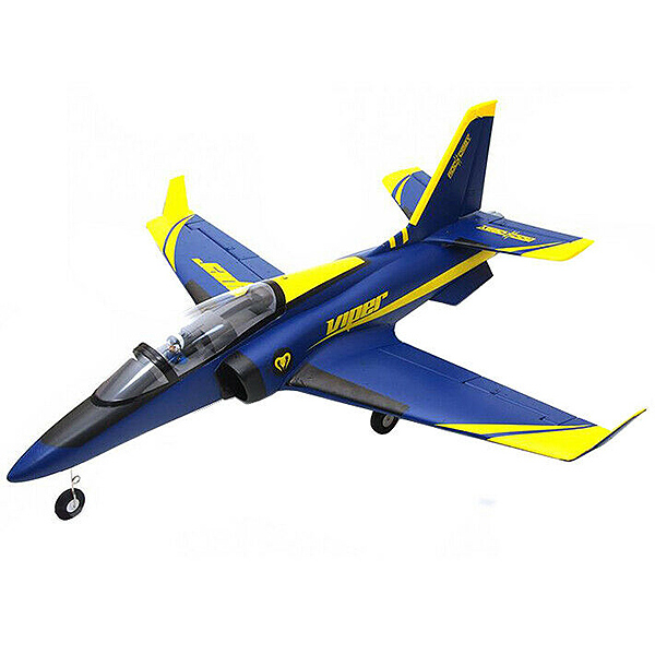 ROC HOBBY 1100MM V2 VIPER BLUE 70MM EDF ARTF w/o TX/RX/BATT