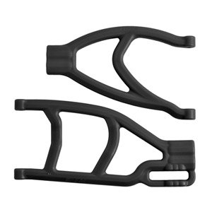 RPM EXTENDED LEFT REAR A-ARMS FOR TRAXXAS SUMMIT & REVO - BLACK