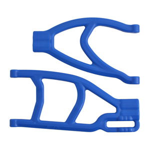 RPM EXTENDED RIGHT REAR A-ARMS FOR TRAXXAS SUMMIT & REVO - BLUE