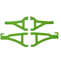 RPM TRAXXAS 1/16TH E-REVO FRONT A-ARMS GREEN
