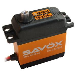 SAVOX HV DIGITAL BRUSHLESS SERVO 42KG/0.13s@7.4V w/HORN