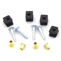Savox Rubber Spacer Set For Std Size Servos
