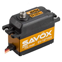 SAVOX 'HIGH VOLTAGE' STD SIZE ULTRA FAST SERVO 25KG/0.08@7.4V