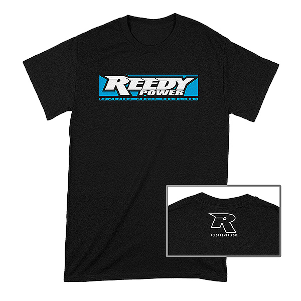REEDY W19 T-SHIRT BLACK LARGE