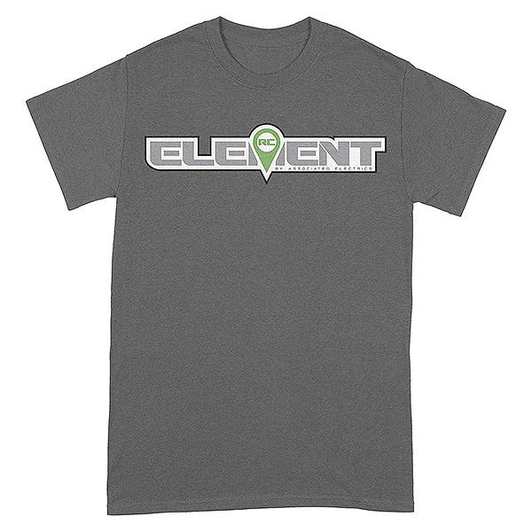 ELEMENT RC LOGO T-SHIRT GREY X-LARGE