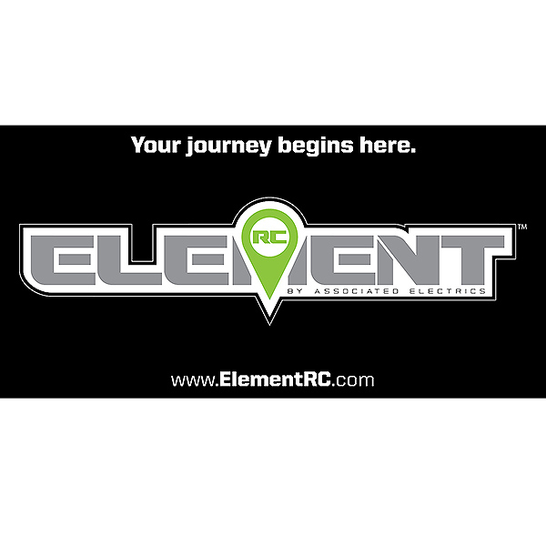 ELEMENT RC VINYL BANNER 48 x 24