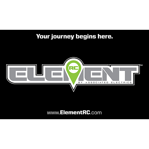ELEMENT RC MINI VINYL BANNER 20 x 12