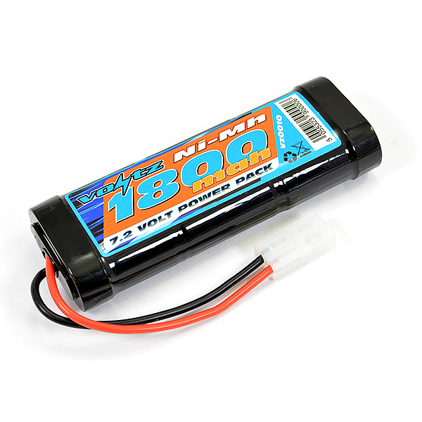 Voltz 1800Mah 7.2v NiMH Stick Pack Battery W/Tamiya Connector