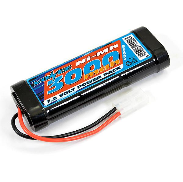 Voltz 3000Mah Stick Pack 7.2V W/Tamiya Connector