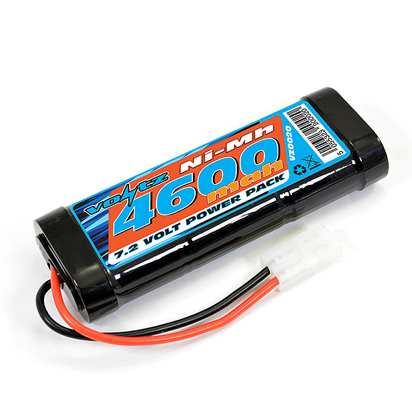 Voltz 4600Mah 7.2v NiMH Stick Pack Battery W/Tamiya Connector