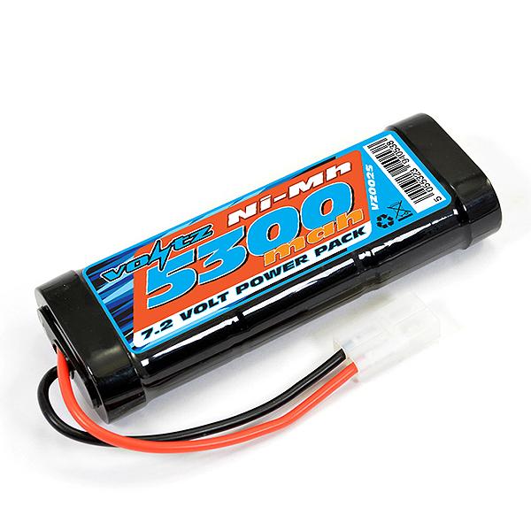 Vz0025 Voltz 5300Mah Stick Pack 7.2V W//Tamiya Connector
