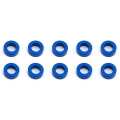 ASSOCIATED BALLSTUD WASHERS 5.5 x 2.0mm BLUE ALUMINIUM x10