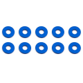 ASSOCIATED BULKHEAD WASHERS 7.8 x 1.0mm BLUE ALUMINIUM (10)