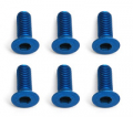 Team Associated Factory Team M3X8 Fhcs Blue Aluminium (6)