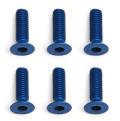 Team Associated Factory Team M3X10 Fhcs Blue Aluminium (6)