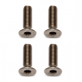 ASSOCIATED TI SCREWS 3 X 10MM FHCS (4) TITANIUM