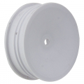 ASSOCIATED BUGGY WHEEL 2WD SLIM FRONT 2.2 12MM HEX WHITE
