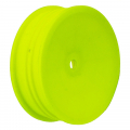 ASSOCIATED BUGGY WHEEL 2WD SLIM FRONT 2.2 12MM HEX YELLOW