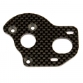 TEAM ASSOCIATED FT LAYDOWN/ LAYBACK MOTOR PLATE GRAPHITE