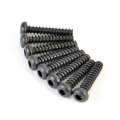 FTX ROUND HEAD SELF TAPPING HEX SCREW 3*15 8PCS