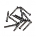 FTX ROUND HEAD SELF TAPPING SCREWS 2.6 X 18MM (12)