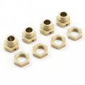 FTX FUTURA WHEEL HEX HUBS AND NUTS (4)