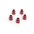 GMADE ALUMINUM SHOCK END BALL 5.8X7.3MM (RED) (5)