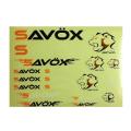 Savox Decal Sheet 22cm X 25cm