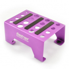 Fastrax Universal Aluminium Car Stand Purple