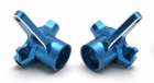 Team Associated RC8/T/Sc8 Cnc Alloy Steering Blocks - Blue