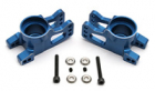 Team Associated RC8/T/Sc8 Cnc Alloy Rear Hub Carriers - Blue