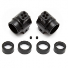 ASSOCIATED B5/B5M/T5M/B6/B6D ALUMINIUM REAR HUBS BLACK