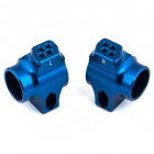 ASSOCIATED B6/B6.1 FACTORY TEAM BLUE ALUMINIUM REAR HUBS FOR 67MM
