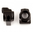 ASSOCIATED B64/B64D FACTORY TEAM BLACK ALUMINIUM REAR HUBS
