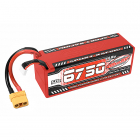 CORALLY SPORT RACING 50C LIPO BATTERY 6750MAH 14.8V STICK 4S HARDWIRE XT90