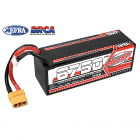 CORALLY VOLTAX 120C LIPO BATTERY 6750MAH 14.8V STICK 4S HARD WIRE XT90