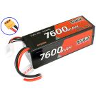 CENTRO 4S 7600MAH 14.8V 100C HARDCASE LIPO BATTERY XT90