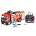 HUINA 1/14 FIRE TRUCK WITH POWERFUL HOSE