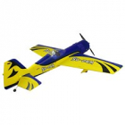DYNAM SUKHOI SU-26M 1250mm BLUE/YELLOW w/o TX/RX/Batt