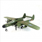 DYNAM P-61 BLACK WIDOW GREEN TWIN 1500mm W/O TX/RX/BATT