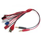 Etronix 4.0mm To Deans/Futaba/Jst/Tami Ya/Ec3/Diy Extra Wire
