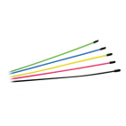 FASTRAX MULTI COLOURED ASSORTED ANTENNA TUBES 6pcs