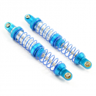FASTRAX DOUBLE SPRING ALLOY SHOCK ABSORBERS 100MM