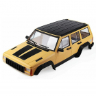 FASTRAX 1/10 ROCKEE FULLCAB & INTERIOR HARDBODY 313mm - Yellow