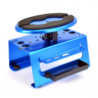 FASTRAX DELUXE ALUM LOCKING ROTATING MAINTENANCE STAND - BLUE