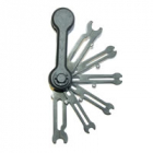 Fastrax 6pc Folding Ringtool 1.5mm/2.0mm/3.0mm/4.0mm/5.0mm