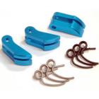 Fastrax Blue Alu. Lightweight Clutch Shoe (Inc 1.0 & 1.1mm Springs)